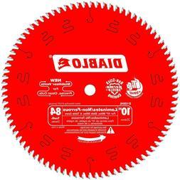 "DIABLO 10"" 84Teeth Saw Blade - Table Saw and Miter Saw - cut"