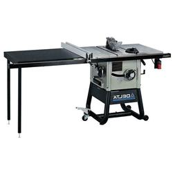 10 inch Left Tilt Contractor Table Saw Jobsite Compact Elect