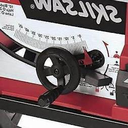 SKIL 10-Inch Table Saw with Folding Stand Capacity Rip Right