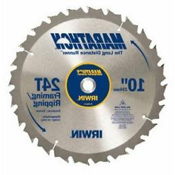 10 24T Marathon Miter and Table Saw Blades