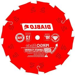 "DIABLO 10"" Pergo Laminate Flooring Blade - Chop Saw, Table S"