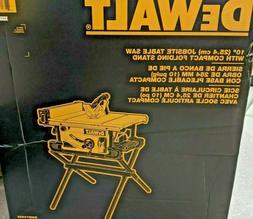 "Dewalt 10"" Table Saw and Stand DWE7490X"