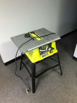 Ryobi#¹15 Amp 10 in. Table Saw with Steel Stand RTS10G Reco