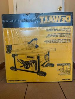 Dewalt 15 Amp Corded 8-1/4 in. Compact Jobsite Tablesaw Bran