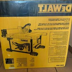 Dewalt 15 Amp Corded 8-1/4 in Compact Jobsite Tablesaw Bench
