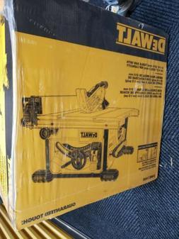 DEWALT 15 Amp Corded 8-1/4 in. Compact Jobsite Tablesaw