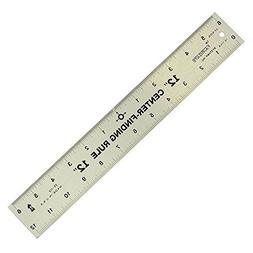 Big Horn 19110 Center Finder Ruler, 12-Inch
