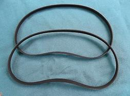 """2 NEW DRIVE BELTS FOR RIDGID 10"""" TABLE SAW TS24121 10"""" TABLE"""