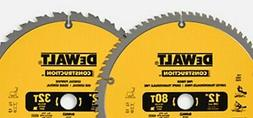 """12"""" 80T 32T 2-Pack 12 Inch Saw Blade Carbide Table Saw Blade"""