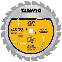 """DEWALT 8-1/4"""" 24T Table Saw Blade DWAFV3824 new"""