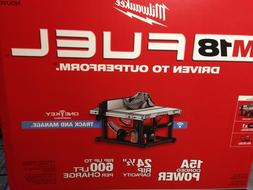 "Milwaukee 2736-21HD M18 Fuel 8-1/4"" Table Saw with One-Key K"