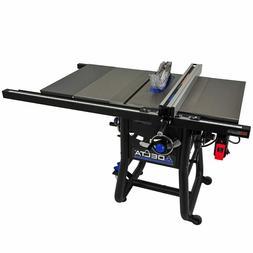 """DELTA 36-5100T2 10"""" Left Tilt Table Saw 30"""" Rip Cast Iron Wi"""