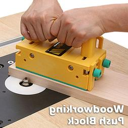 3D Safety Woodworking Push Block for Table Saws Tables Route