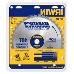 Irwin Industrial Tool #14080 12 40T Carb Tip Blade