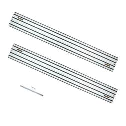 Aluminum Extruded Guide Rail 55 In. Joining Set Compatible W