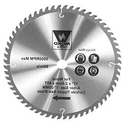 60 tooth carbide saw blade