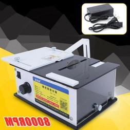 60mm Table Saw Mini Woodworking Bench Lathe Electric Polishe