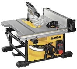 8-1/4 in. Compact Jobsite Tablesaw Yellow 24.5 in. Rip Capac