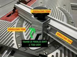 Miter Fence Holder / Clamp Ryobi & Craftsman BT3000/BT3100 2