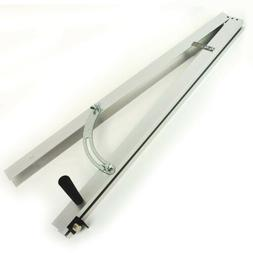 Adjustable Aluminum Taper Jig Fence for Table Saw Wood Taper