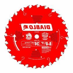 Freud D0824X Diablo 8-1/4-inch 24 Tooth ATB Framing Saw Blad