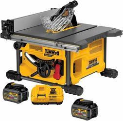 """DEWALT DCS7485T1 FLEXVOLT 60V MAX Table Saw Kit, 8-1/4"""""""