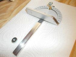 Dremel 580  Custom Miter Gauge , Metal w/ Aluminum Fence & G