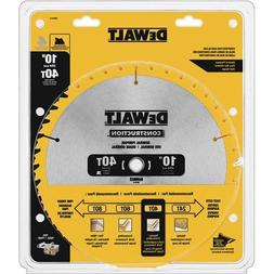 "DeWalt DW3114 10"" 40T Thin Kerf Table Saw Blade"