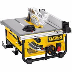 DEWALT DW745 10 IN. COMPACT JOBSITE TABLE SAW NIB