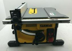DEWALT DWE7485 8-1/4 in. Compact Jobsite Table Saw, V.G