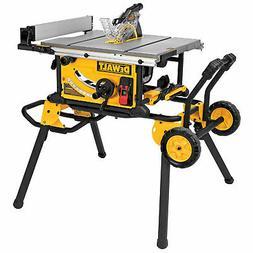 "DeWalt DWE7491RS 10"" Jobsite Table Saw w/ Rolling Stand"