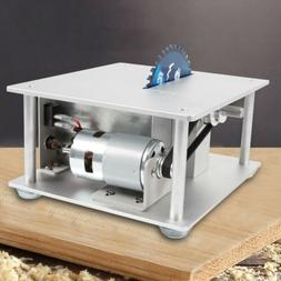 Electric Precision Bench Top Table Saw Woodworking with 3 Bl