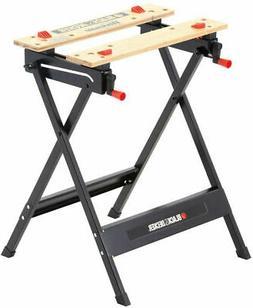 Folding Workbench Vise Work Bench Sawhorse Portable Table Cl