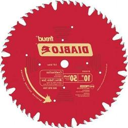 Freud 10in. 50T Diablo Combination Chop Miter & Table Saw Bl