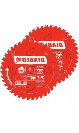 Freud D0740X Diablo 7-1/4-inch 40T ATB Finish/Plywood Thin K