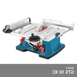 "Bosch GTS 10 XC Professional Table Saw 2100W 10"" 254mm 77lbs"