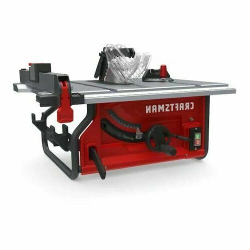CRAFTSMAN 10-in Carbide-Tipped Blade 15-Amp Table