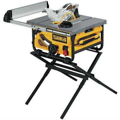 10 in compact job site table saw