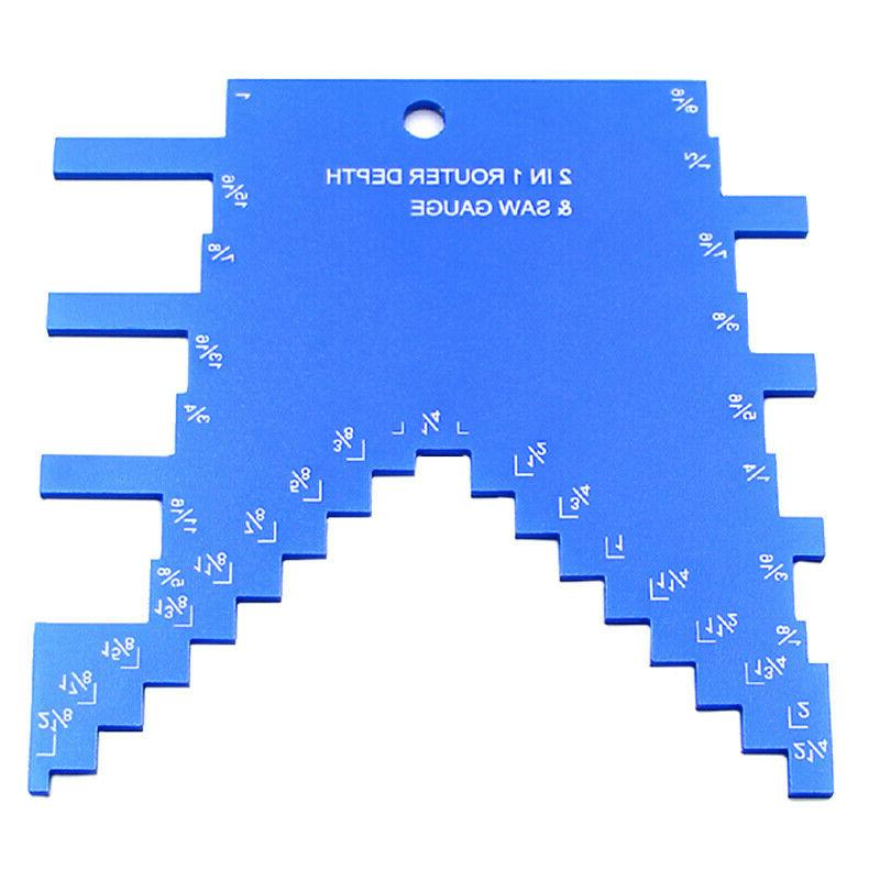 2 in 1 router depth gauge table