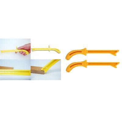 2pcs Plastic Wood Saw Push Stick Fits for Radial Saws Woodwo