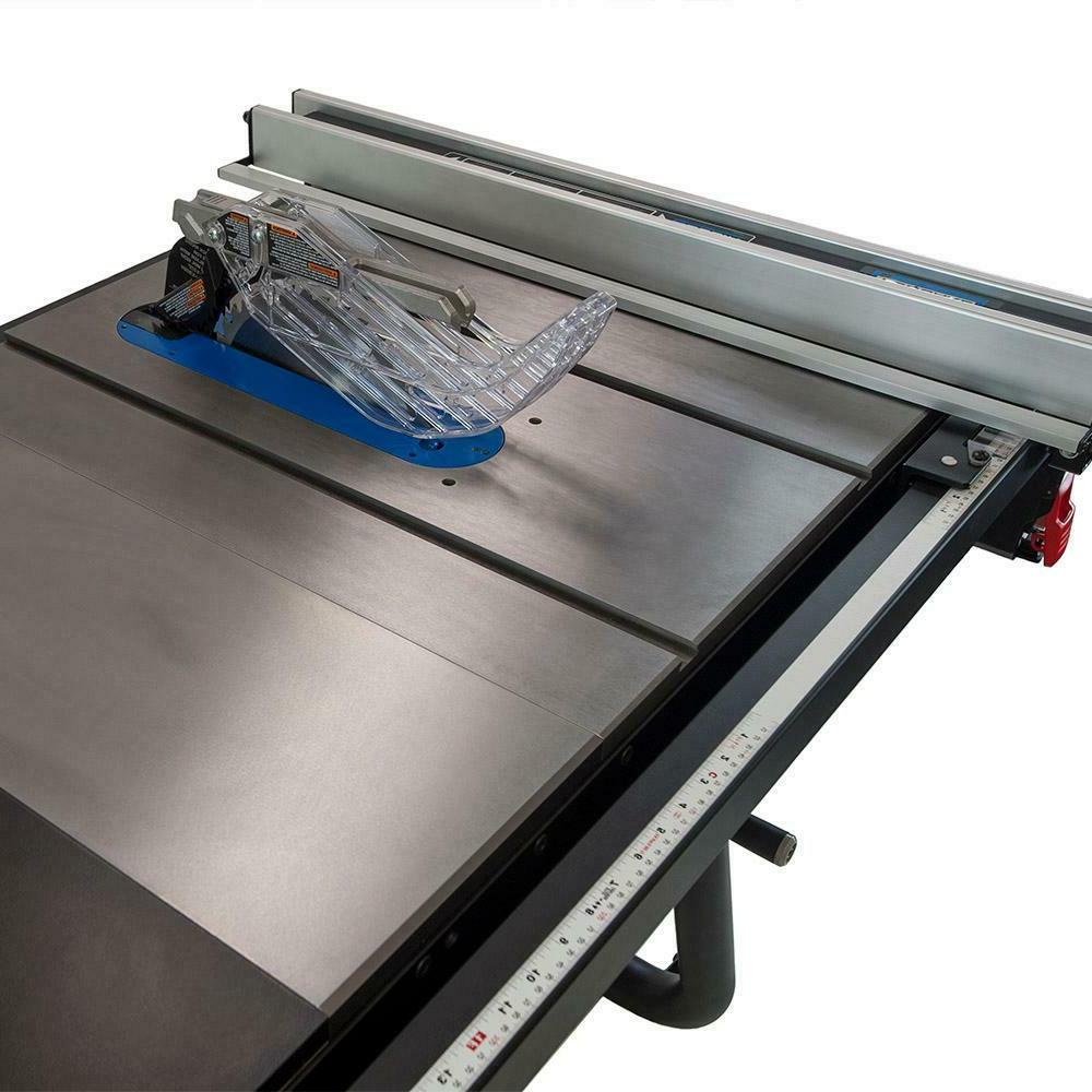 "DELTA 10"" Left Tilt Table Saw Rip Iron Wings"