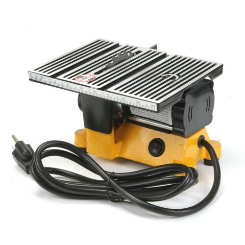 "4"" Portable Table DIY Wood Cutting Machine Woodworking Grinder Polisher"