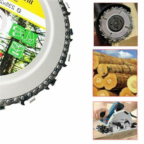 9 Inch Brush Chain Disc Carving Wood Tools US