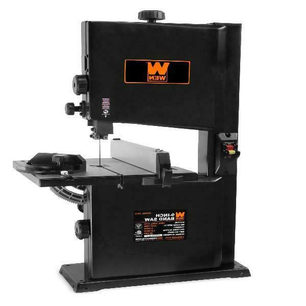 9 inches wide benchtop band saw work