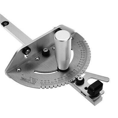 Aluminum 27 Angle Saw BandSaw Miter Gauge Guide