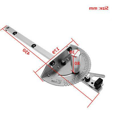 Aluminum Angle Saw BandSaw Gauge Guide Woodworking