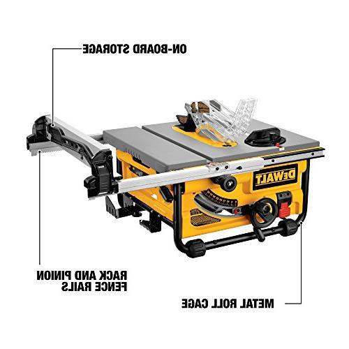 DEWALT DW745 Compact Job-Site 20-Inch Capacity - Table saw
