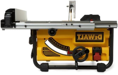 DEWALT DW745 Compact Job-Site Table 20-Inch - saw