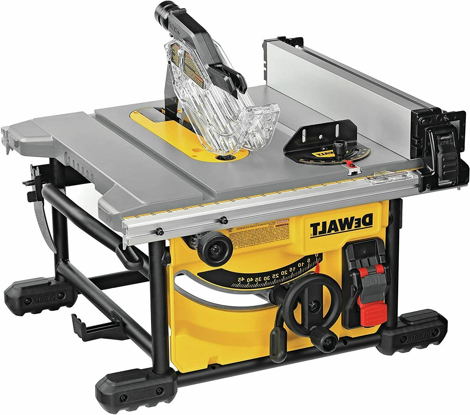 DEWALT Table Saw for Jobsite, Compact, 8-1/4-Inch  FREE SHIP