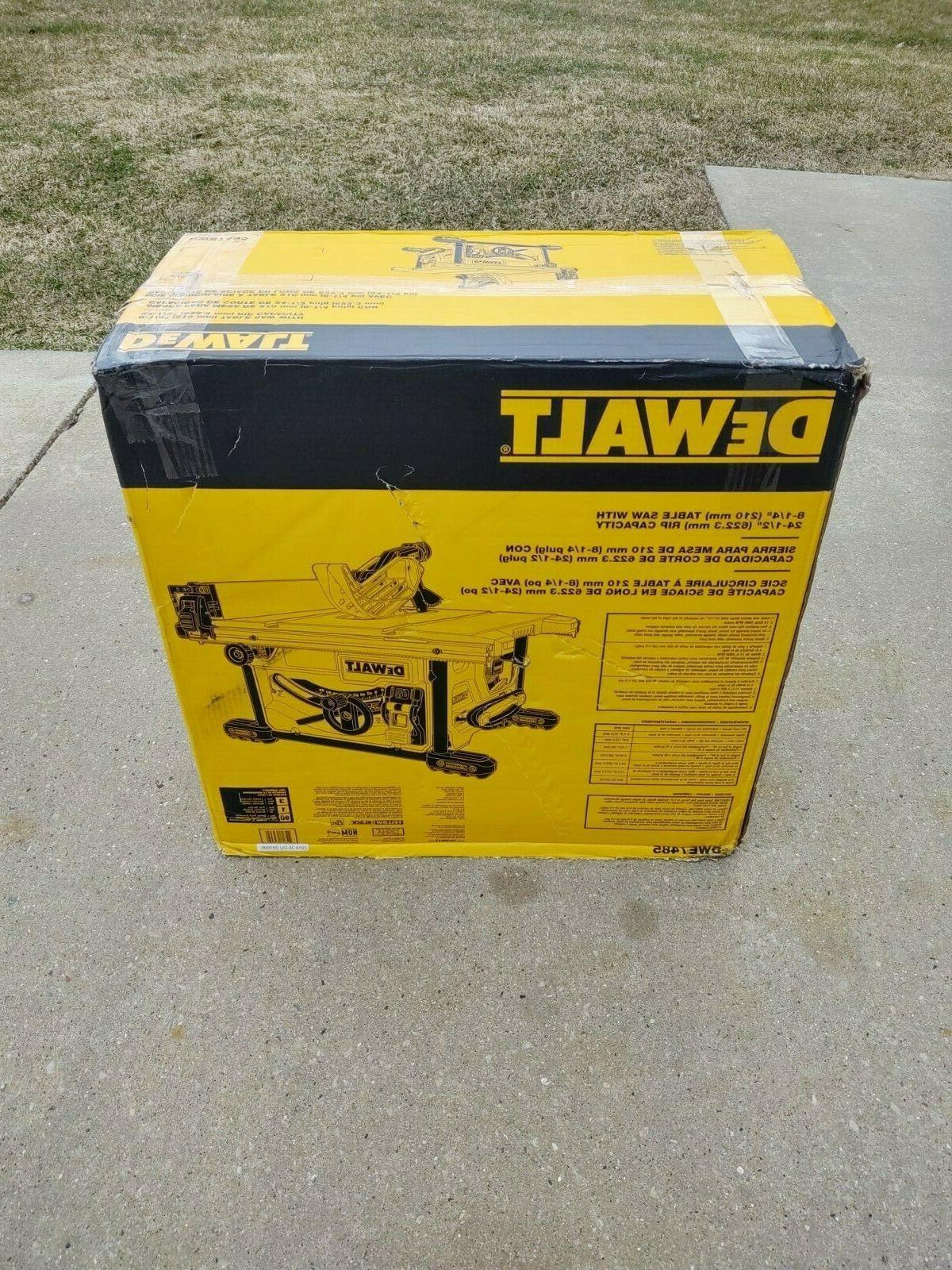Dewalt DWE7485 Compact Tablesaw NIB